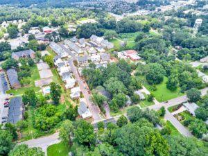 Auburn Student Housing Aerial